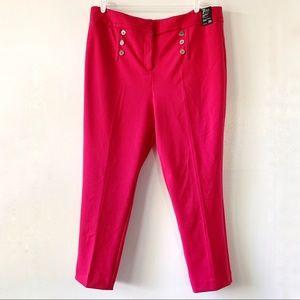 New York & Company Pink Modern Fit Skinny Size 20